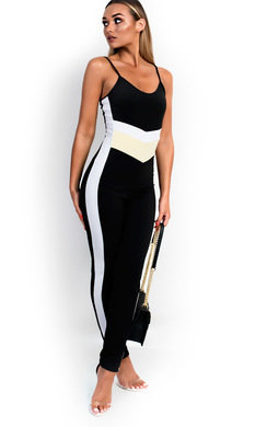 View the Samira Stripe Jumpsuit online at iKrush