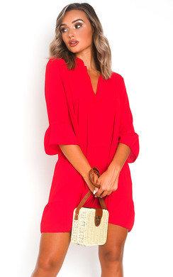 View the Sarah Frill Shift Dress online at iKrush
