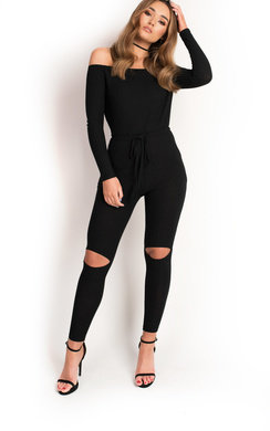 View the Sarrii Knitted Casual Jumpsuit  online at iKrush