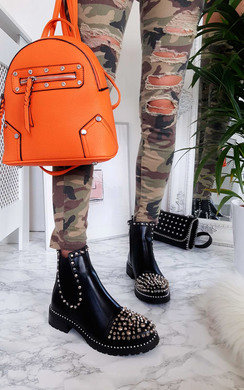 View the Sasha Studded Ankle Boots online at iKrush