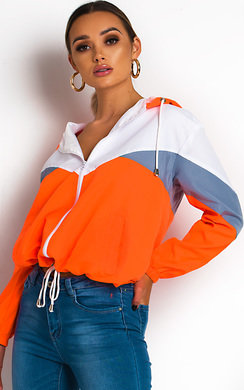View the Sav Neon Sports Shell Bomber Jacket online at iKrush
