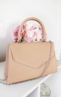 View the Selena Faux Leather Handbag online at iKrush