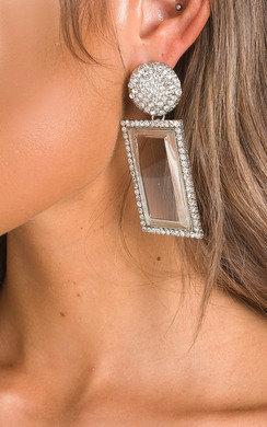 View the Serena Diamante Drop Earrings  online at iKrush