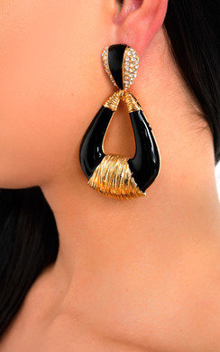 View the Serene Statement Tear Drop Earrings  online at iKrush