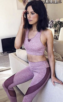 View the Shani Mesh Detail Sports Co-ord online at iKrush