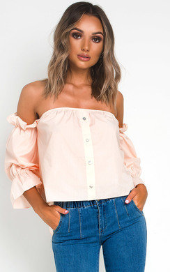 View the Sierra Button Up Crop Top online at iKrush