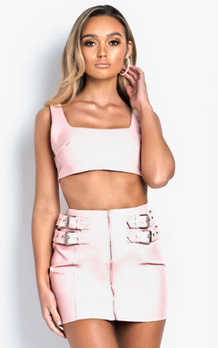 View the Sigrid Patent Zip Detail Co-ord online at iKrush