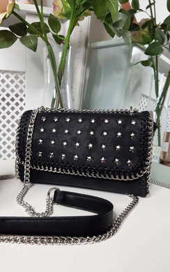View the Sigrid Star Studded Shoulder Bag online at iKrush