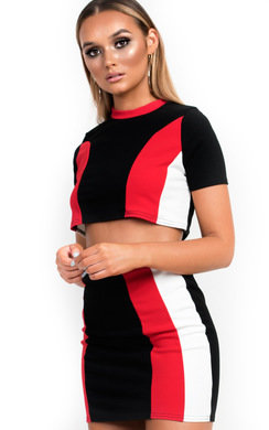 View the Silvey Sports Panelled Co-ord online at iKrush