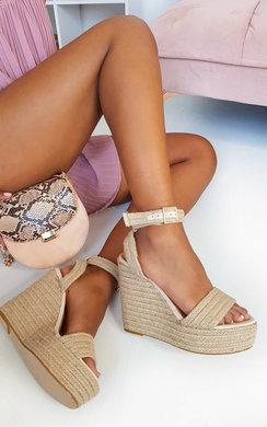 View the Skye Raffia Wedges online at iKrush