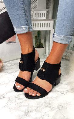View the Soph Tassel Peep Toe Sandal online at iKrush