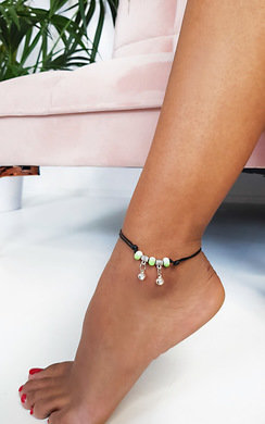 View the Sophie Beaded Lace Anklet online at iKrush