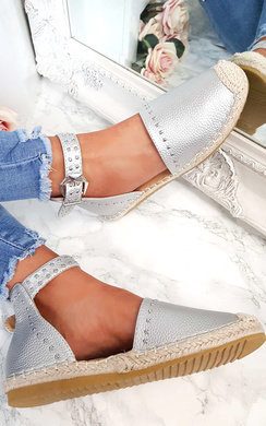 View the Steffi Studded Espadrille Sandals  online at iKrush