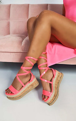View the Suzie Cork Strappy Wedge Sandals online at iKrush
