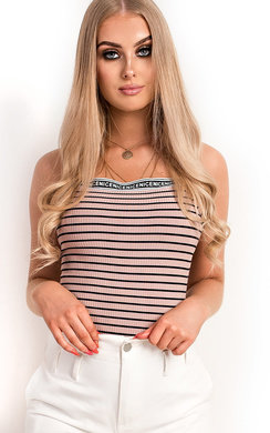 View the Tai Ribbed Stripe Top online at iKrush