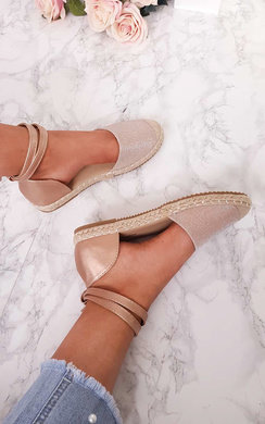 View the Tammi Shimmer Espadrille Sandals  online at iKrush