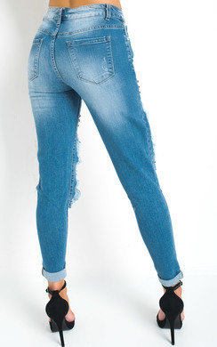 View the Tanya Studded Ripped Jeans  online at iKrush