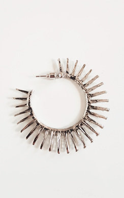 View the Tasha Spike Hoop Earrings  online at iKrush