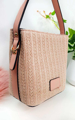 View the Tatiana Wicker Woven Handbag online at iKrush