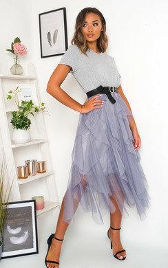 View the Tempany Tulle Midi Dress online at iKrush