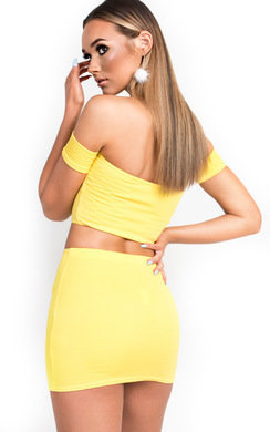 View the Tessi Off Shoulder Crop Top online at iKrush