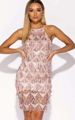 View the Tessi Sequin Bodycon Mini Dress online at iKrush