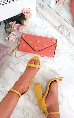 View the Tessie Barely There Block Heels online at iKrush