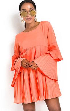 View the Tessy Frill Shift Dress online at iKrush