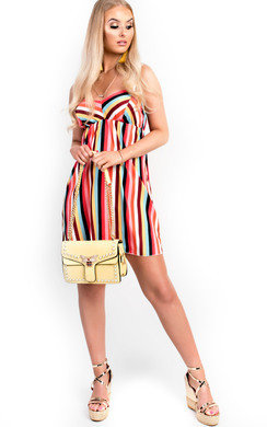 View the Tia Stripe Floaty Sun Dress online at iKrush