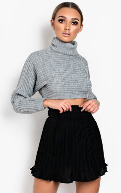View the Tiff Crinkle High-Waist Frill Skirt  online at iKrush