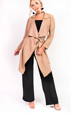 View the Toni Long-Sleeved Waterfall Coat online at iKrush