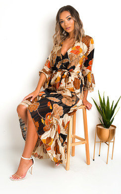 View the Tori Printed Maxi Dress online at iKrush