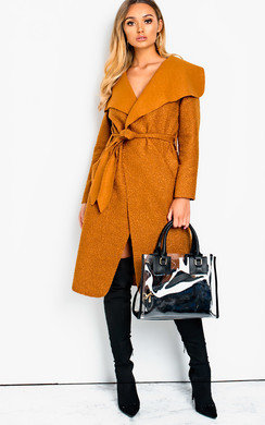 View the Trina Long-Sleeved Waterfall Coat online at iKrush