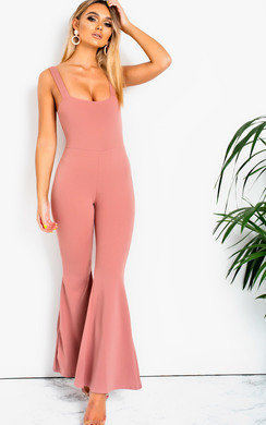 View the  Violet Wide Leg Jumpsuit online at iKrush