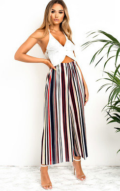 View the Willow Ribbed Culotte Trousers online at iKrush