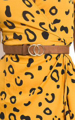View the Winnie Double Circle Buckle Belt online at iKrush