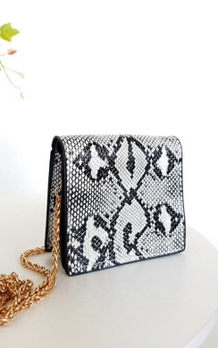 View the Yarah Gold Chain Cross Body Bag online at iKrush
