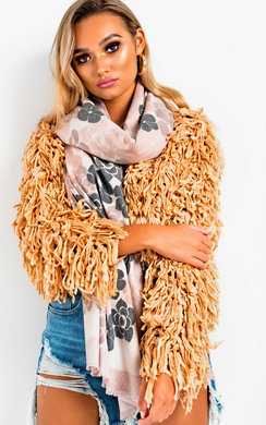 View the Yaz Soft Oversized Floral Scarf online at iKrush