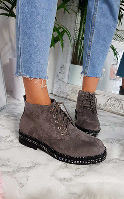 View the Zach Lace Up Ankle Boots online at iKrush