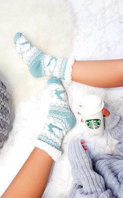 View the Zoe Christmas Cosy Socks online at iKrush