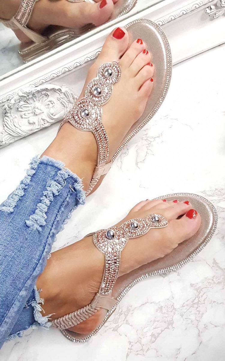 Embellished Sandals Amerie Diamante Sandals Embellished Amerie Amerie Diamante 8NyOPvn0mw