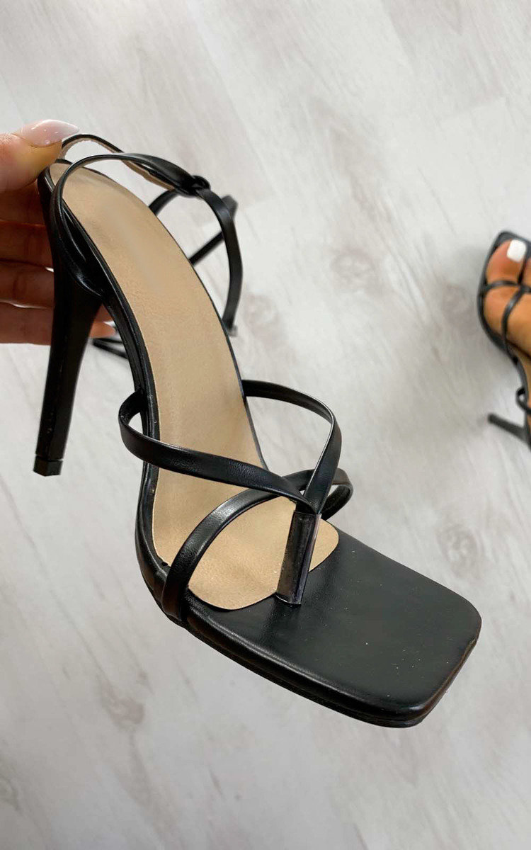Gigi Strappy Lace Up High Heels in