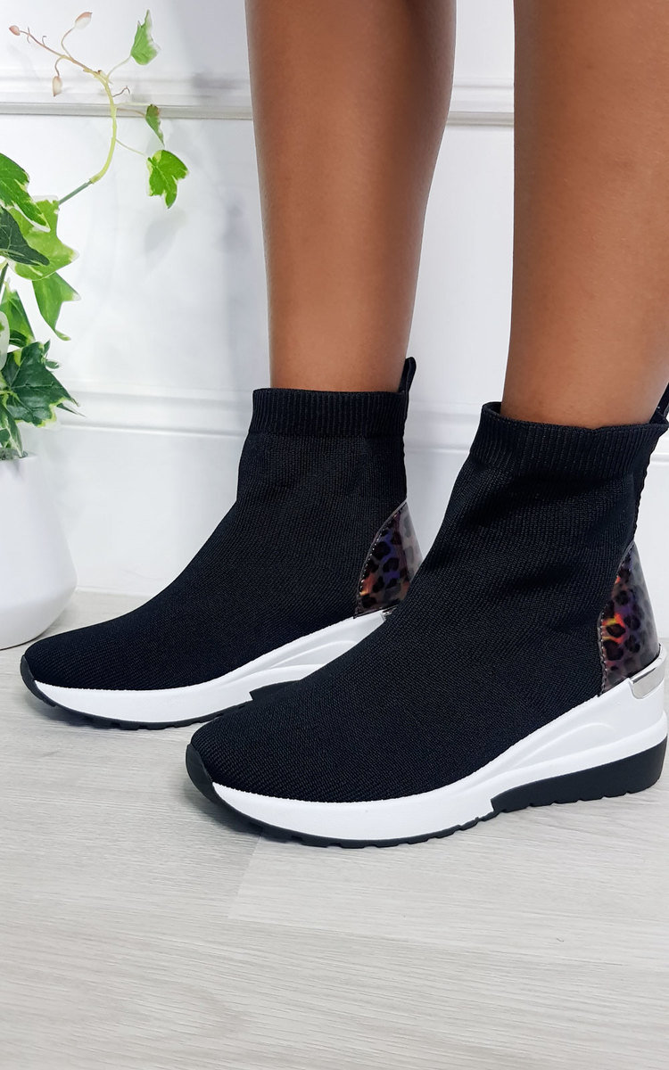 chunky sock trainers