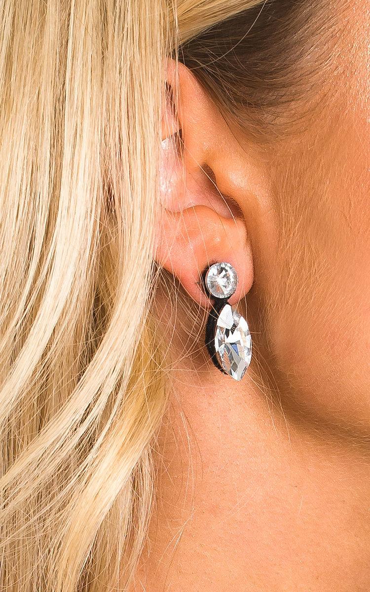 Lola Crystal Drop Necklace Set In