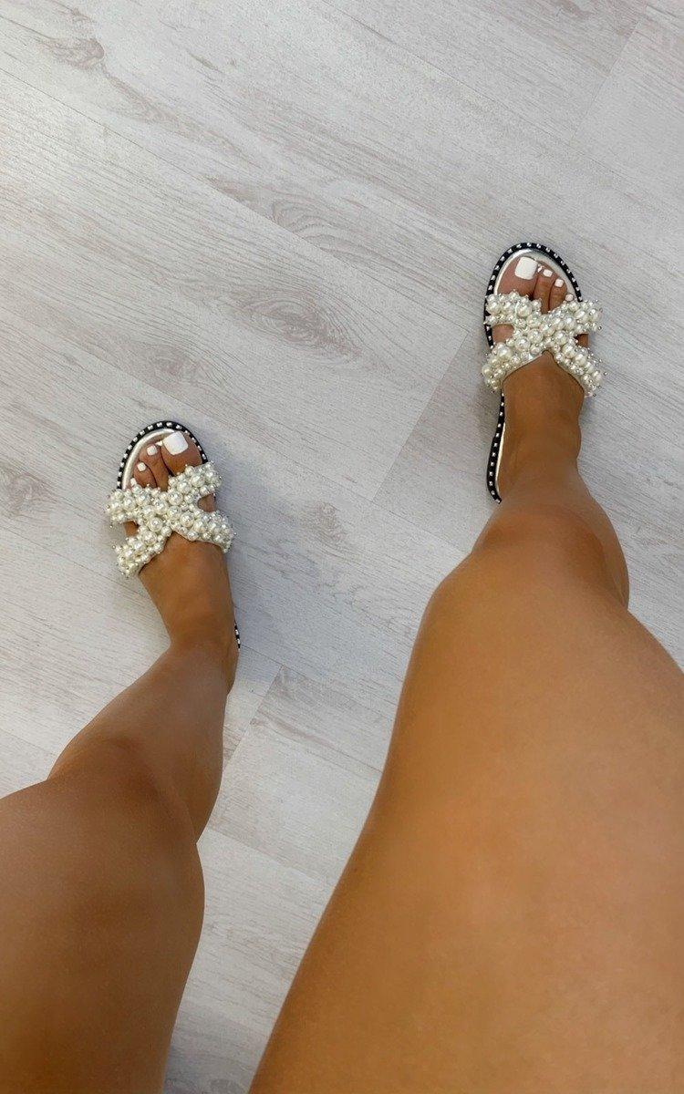 Sorsha Pearl Embellished Slip On