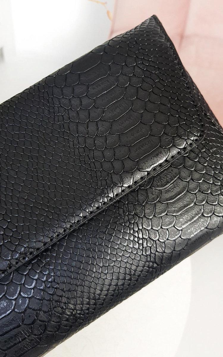 IKRUSH Tilda Faux Leather Envelope Clutch Bag  MUSTARD UK 1SZE