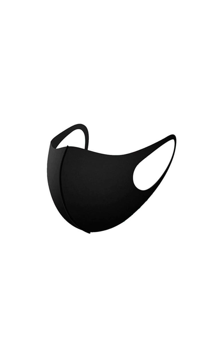 Washable Re-Usable Anti Dust Hygiene Face Mask in Black
